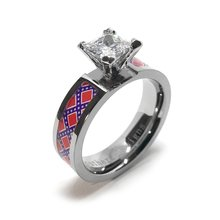 6245c43e9b ... Not Found Elsewhere! https://www.southernsistersdesigns.com/rebel-flag-engagement-or-wedding-ring/  … #southernpride #dixie #confederate #rebelflag ...