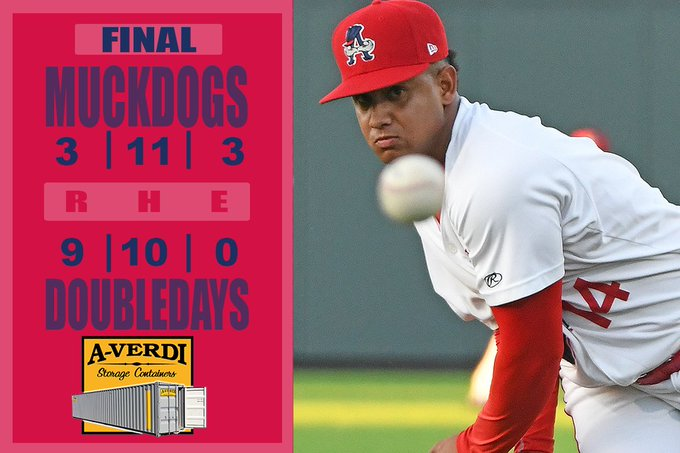 Doubledays salvage final game of Batavia series before heading to West Virginia