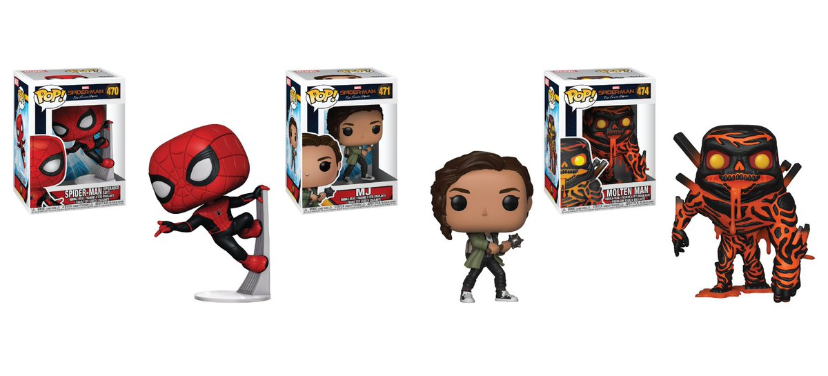 RT & follow @OriginalFunko for a chance to WIN a #SpiderManFarFromHome Pop! Prize Pack!