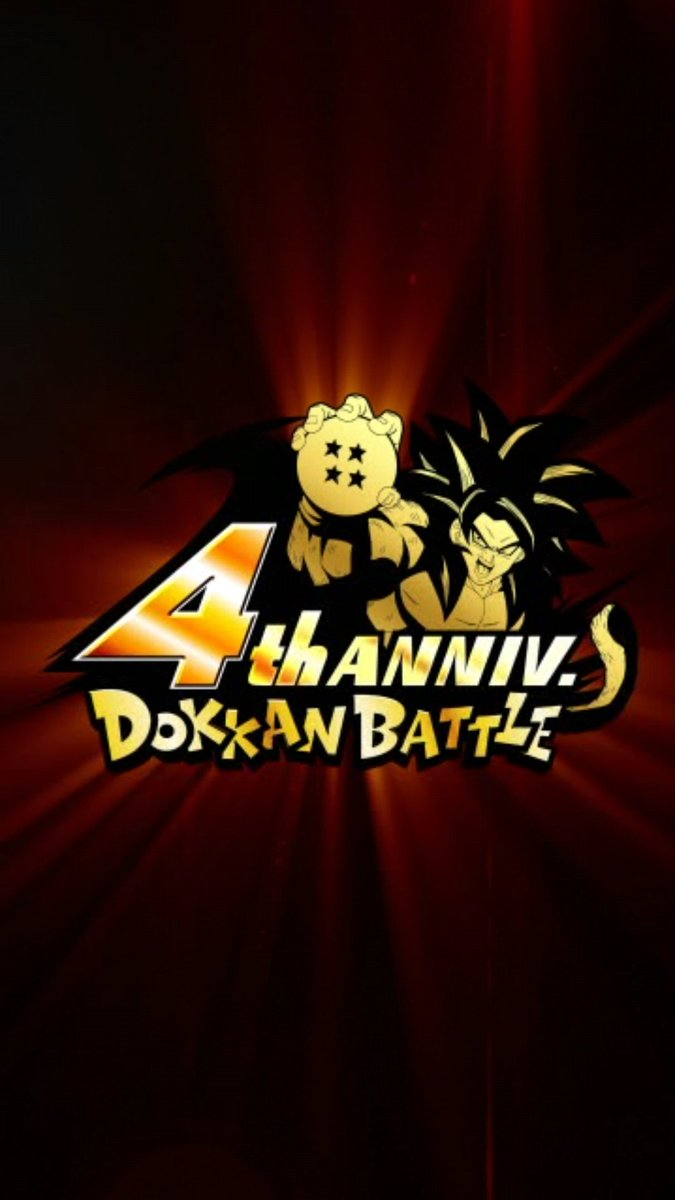 when is dokkan battle 4th anniversary global