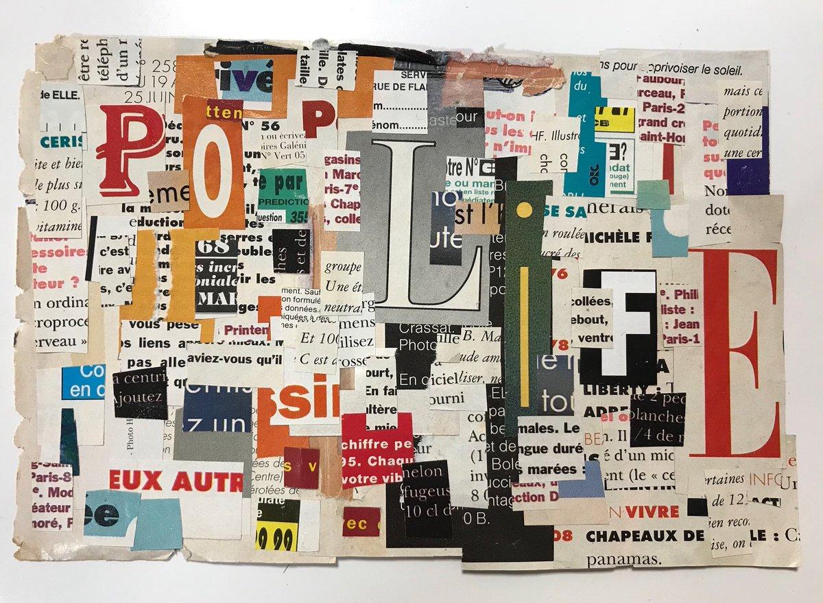 POP LIFE 雑誌を使用してコラージュしました  🎵Tell me, what's the matter with your world という歌詞が好き PrinceのPop Life  KNETENに展示しています  #collage #artwork #KNETEN #カフェ #cafe #monknori #prince #pop #poplife #fashionmagazine #contemporaryart