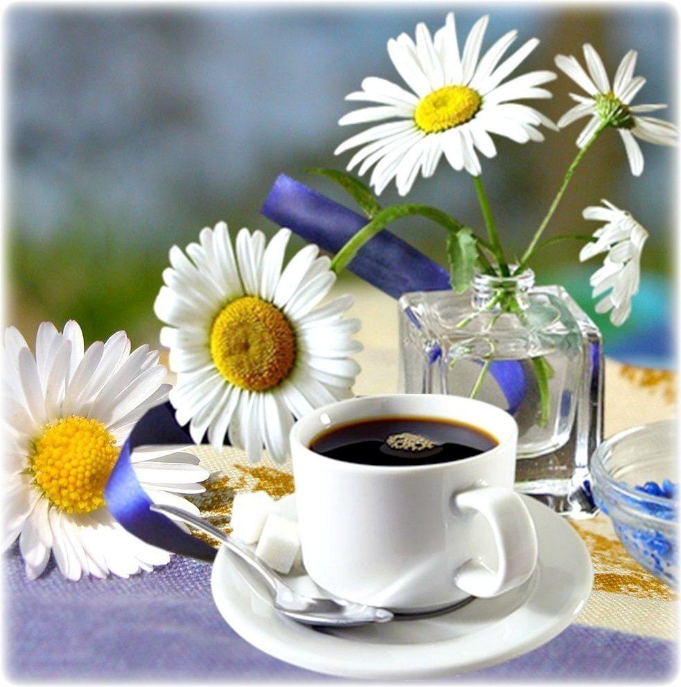 Красивая открытка друзьям с добрым утром