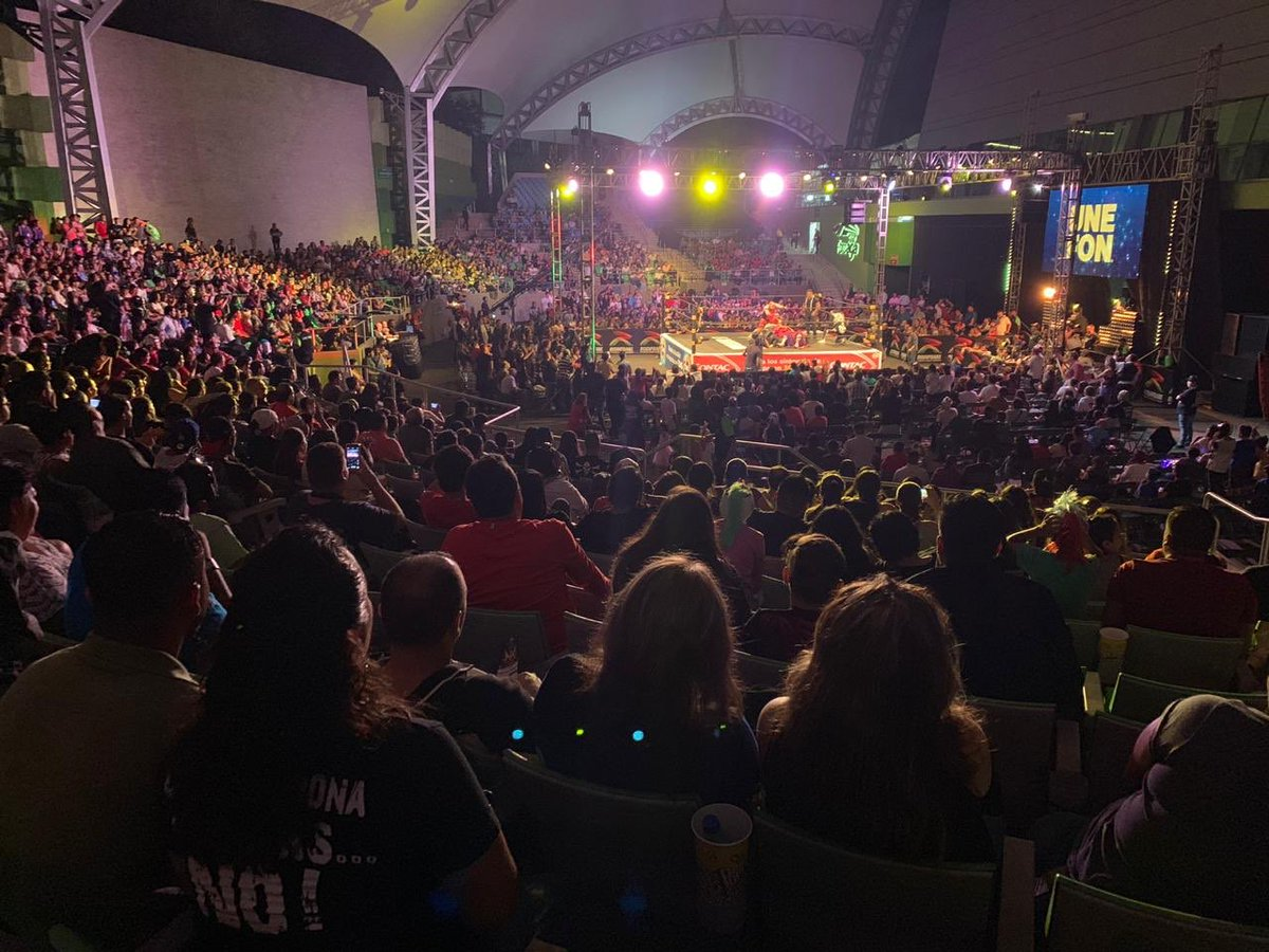 AAA: La Conquista Total sorprendió a Zapopan 2