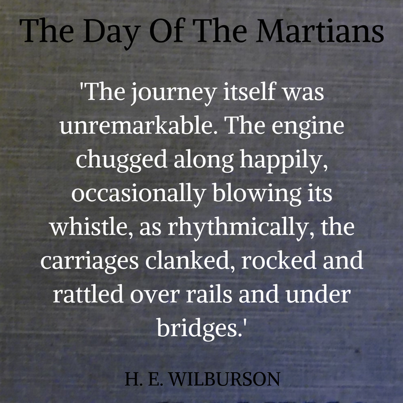 1913 steam engine journey from Woking Junction to Clapham Junction. Chapter 2 The Day Of The Martians. A new sequel to HG Wells The War Of The Worlds    The Martian Diaries trilogy #audiobook #scifi   Sample chapters here  https://www.martiandiaries.com