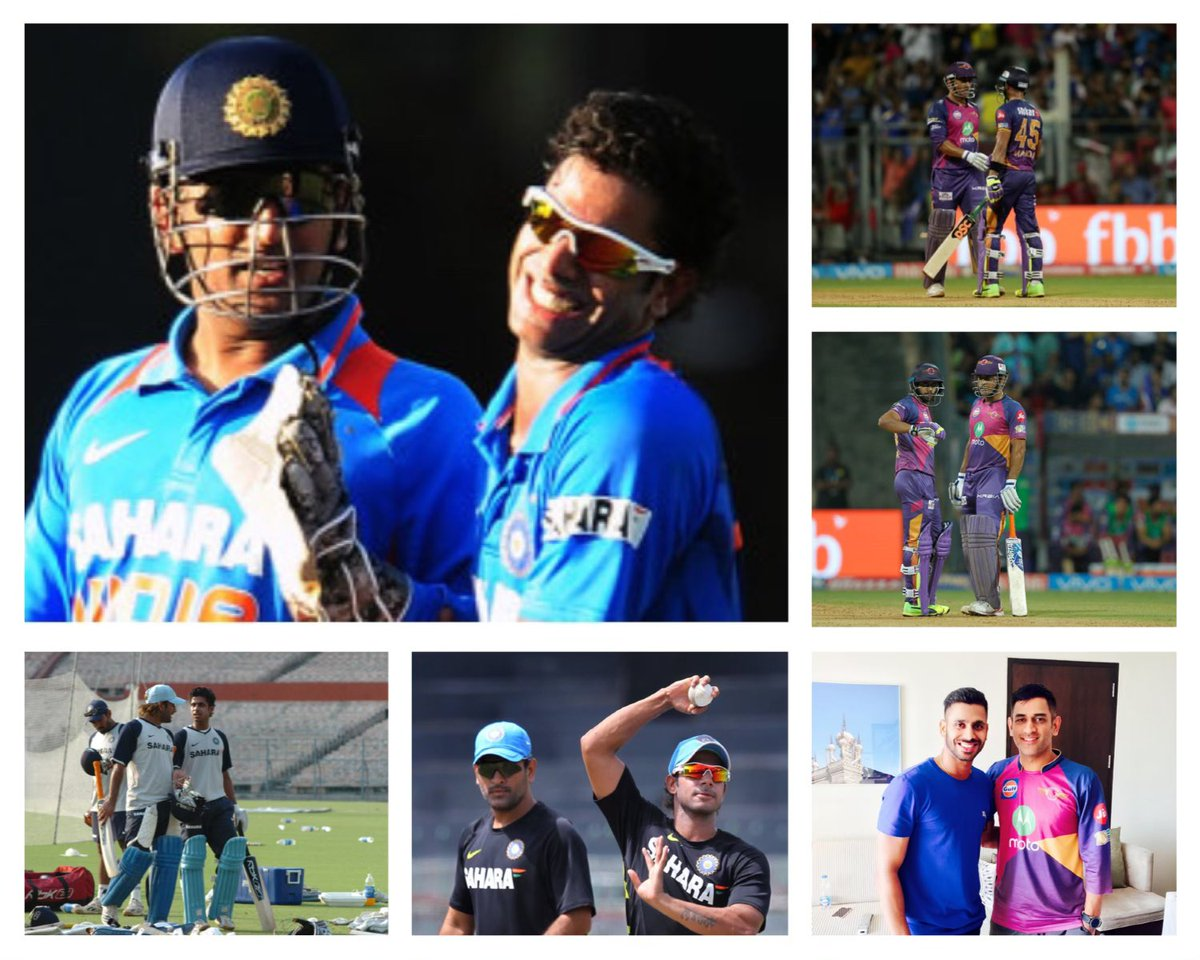 Never let ur emotions overpower ur intelligence. Dis quote suits him perfectly 👍 Dis man has achieved everything on and off the field but the most importantly he has mastered controlling emotions. Happy birthday @msdhoni bhai 🎂🍰May God bless U always👍
