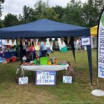Come and see us at the Summer Fest - we are all set up and ready to roll!