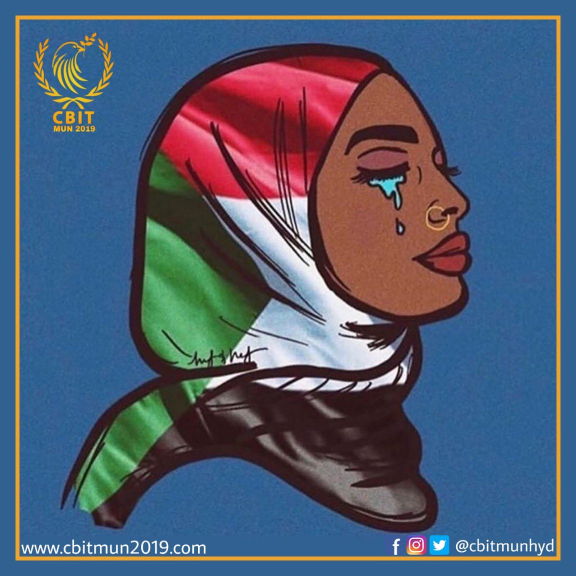 "After months of protests and bloodshed  the sudan crisis is officially at an end.The 5th of July, 2019, saw a landmark agreement in Sudan to ""Establish a sovereign council by rotation between the military and civilians for a period of three years or more.'' #BlueForSudan #Sudan<br>http://pic.twitter.com/ZnslIYSUUX"