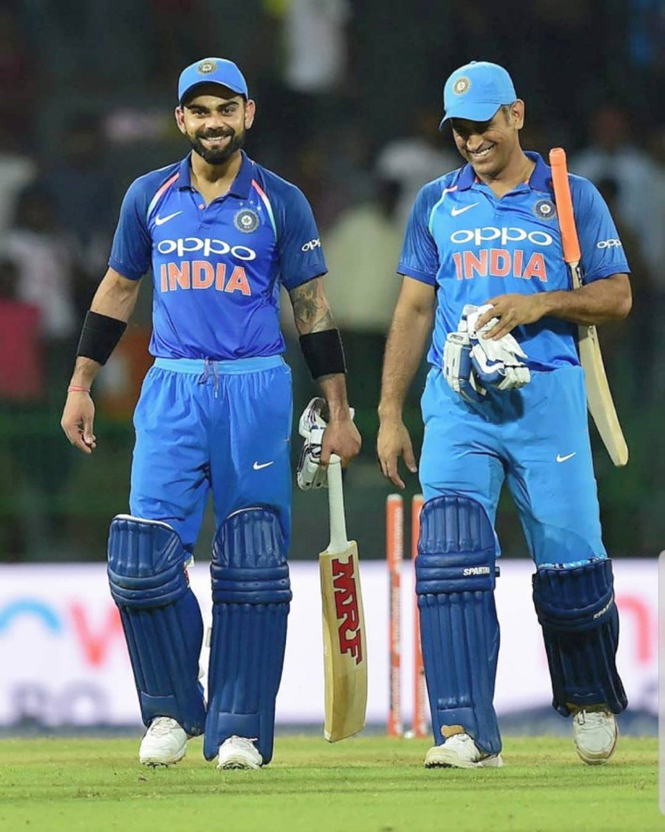 Happy birthday mahi bhai @msdhoni. Very few people understand the meaning of trust and respect and I'm glad to have had the friendship I have with you for so many years. You've been a big brother to all of us and as I said before, you will always be my captain 🙂