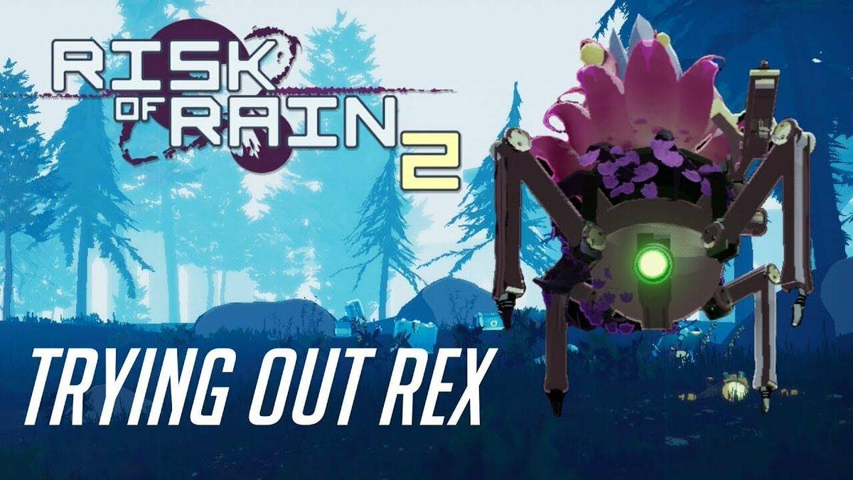 REX First Impressions | Risk of Rain 2: Part 11 (Co-op)  Link:  #co-op #Engineer #fun #Fungus #insane #NewSurvivor #rex #RiskofRain2 #roguelike #YellowNinja #  #RiskofRain2