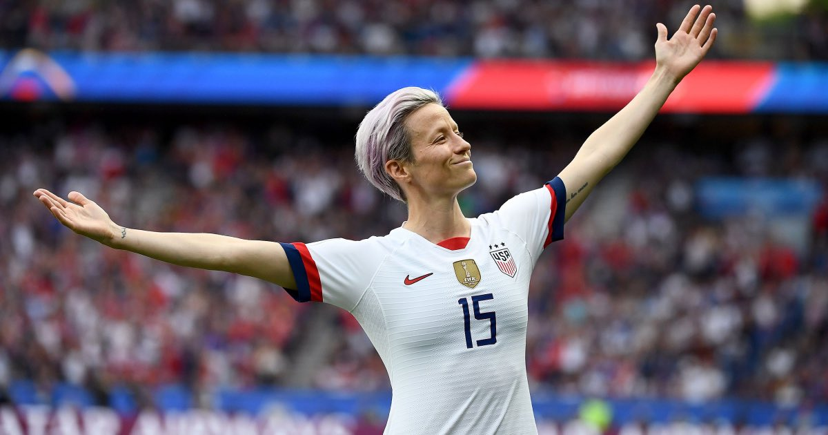 She won the Golden Ball (best player of the World Cup). She also won the Golden Boot (top goal scorer). And she led the U.S. Women to a 4th World Cup. Her name is Megan Rapinoe. She is an American icon and she is not going to the fucking White House! 🇺🇸