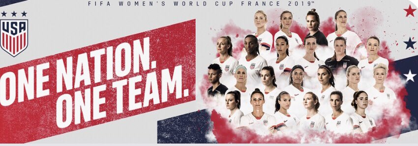 Congratulations @USWNT for an inspirational 2-0 win in the World Cup final. Best in the World. #USA #PayEmEqual