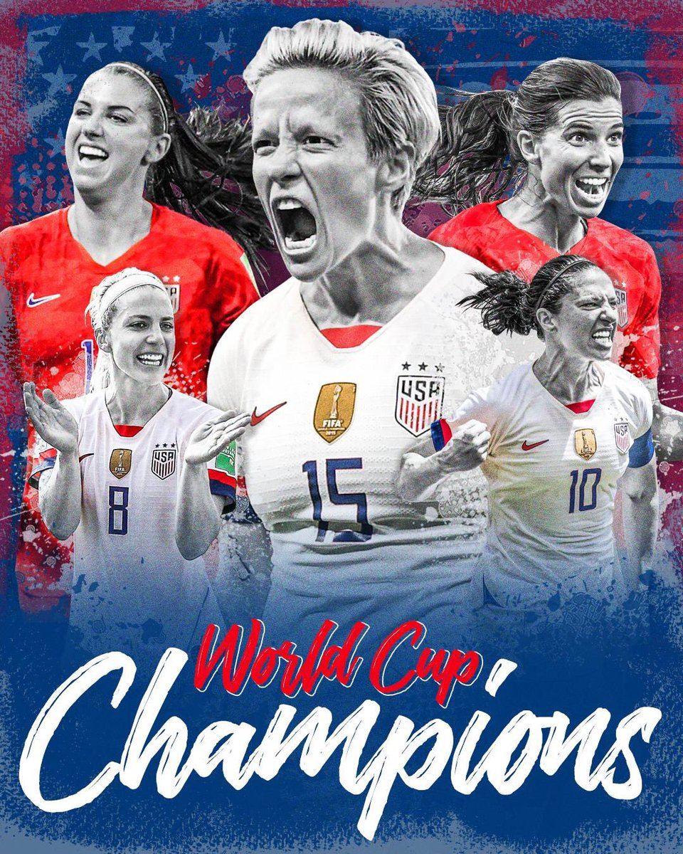 Equal pay for equal work. #FIFAWWC