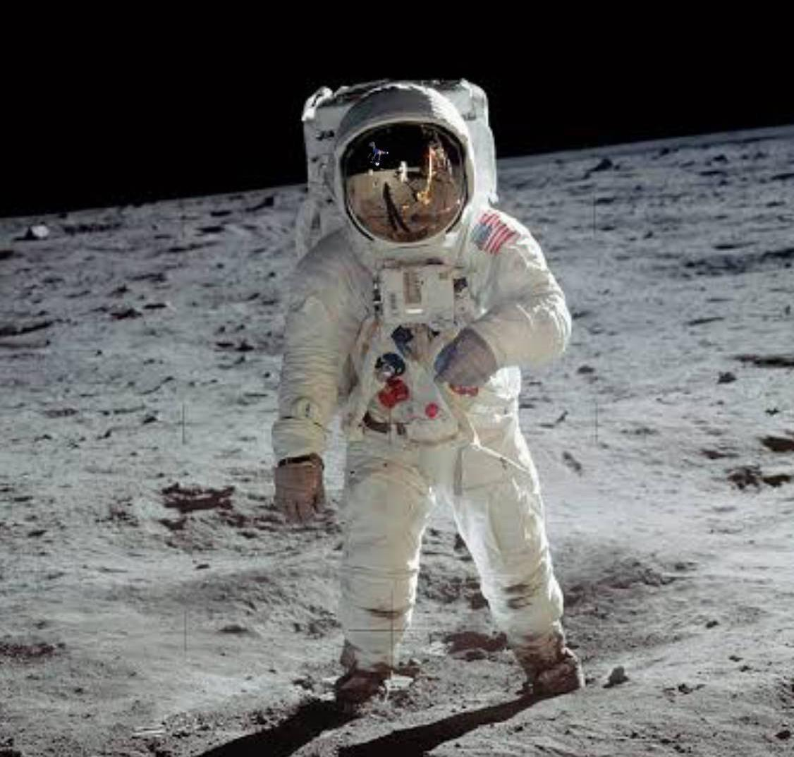 Leaked NASA image (reflection in the visor). Thanks u/theperfectcheckmate for risking your life to spread this. https://www.reddit.com/r/DinosaurEarth?utm_medium=android_app&utm_source=share…