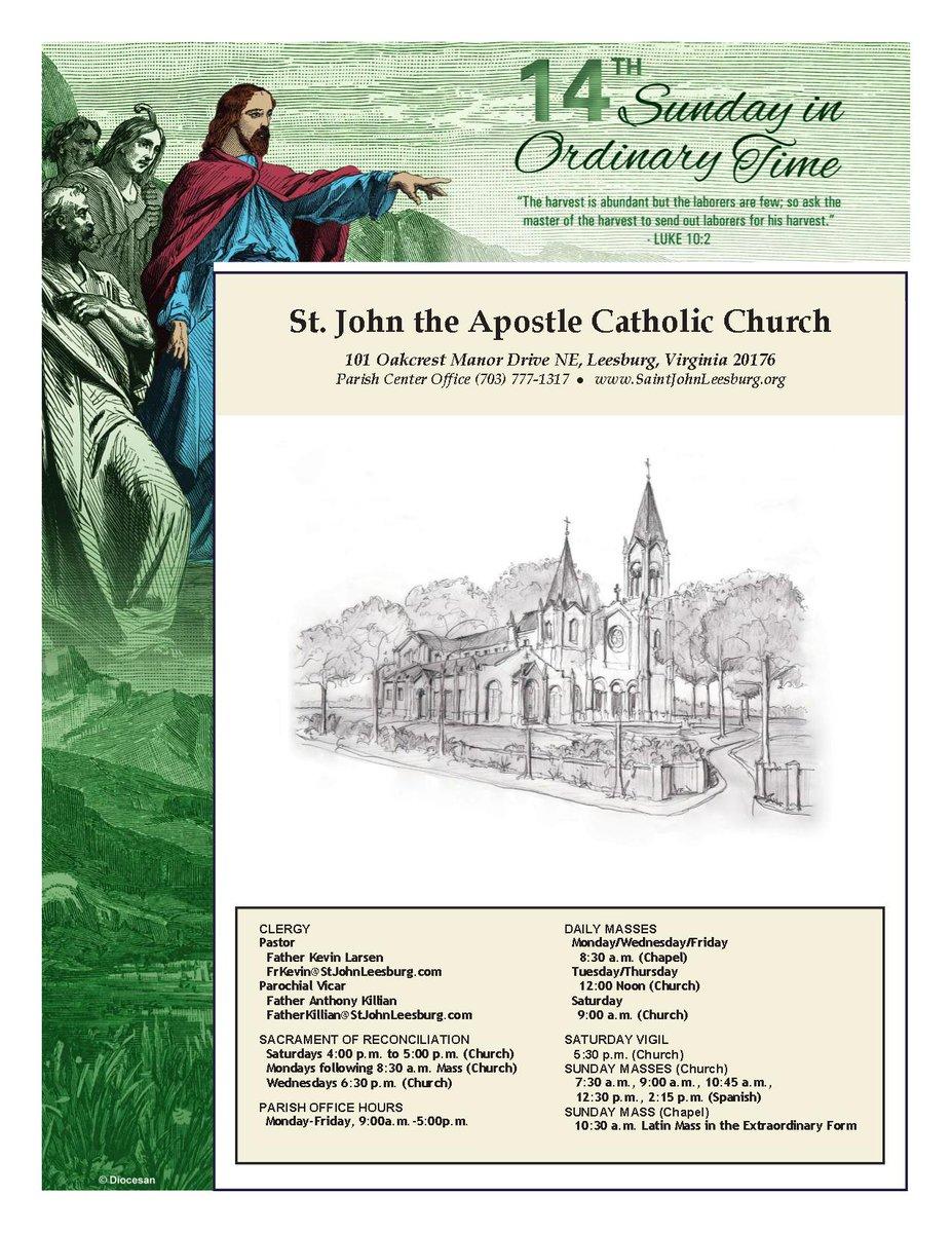 St  John the Apostle (@stjohnleesburg) | টুইটার