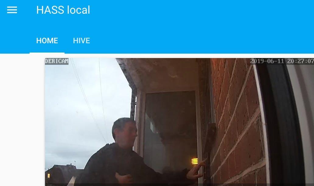 Home assistant camera stream lovelace