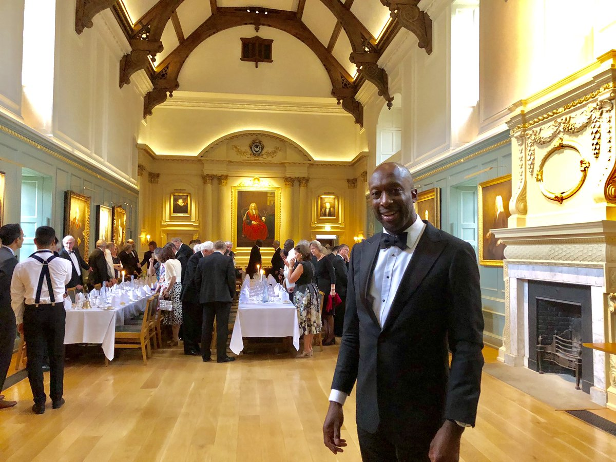 John Chinegwundoh On Twitter Celebrating 25 Years Since Graduating As A Doctor From Cambridge Delighted To Welcome Professor Harold Ellis As Our Guest Speaker For The Medics Dinner Https T Co 9swshilbxe