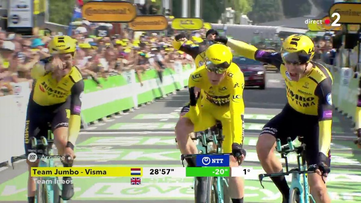 Teunissen hangs on to yellow jersey for Tour de France stage two