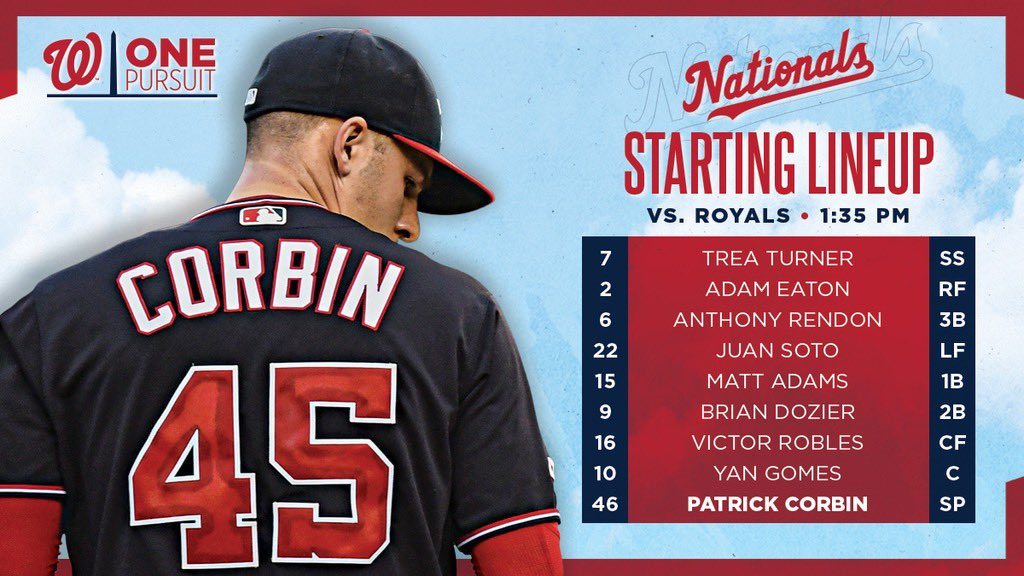 Patrick Corbin's last 3 starts:  21 IP 24 Ks 1.29 ERA 1 75-minute weather delay pitched through  #StPatricksDay // #OnePursuit <br>http://pic.twitter.com/m4Nd46r3TL