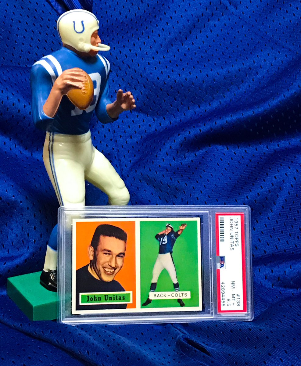 Heritage Auctions Sports On Twitter Johnny Unitas Rookie