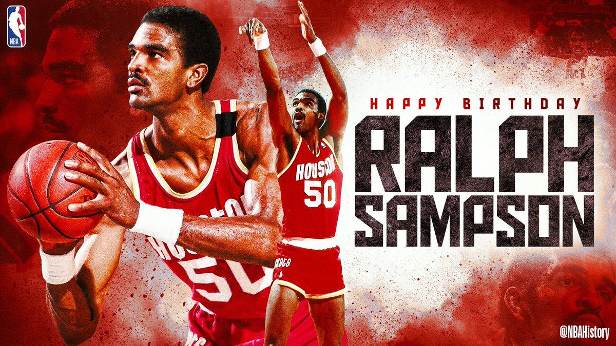Join us in wishing a Happy 59th Birthday to 4x #NBAAllStar & @Hoophall inductee, Ralph Sampson! #NBABDAY