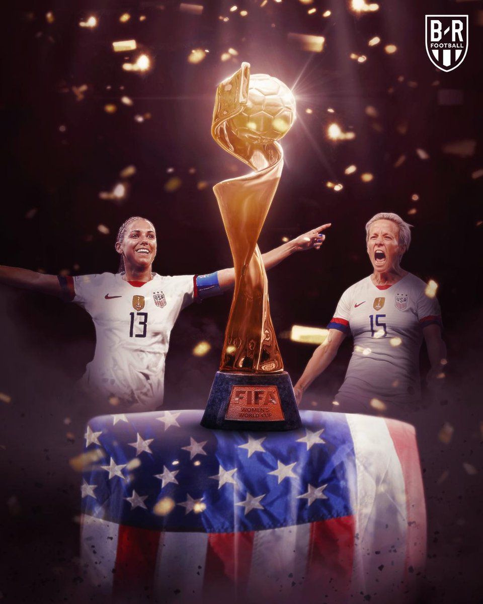 THE @USWNT ARE WORLD CHAMPIONS AGAIN! 🇺🇸