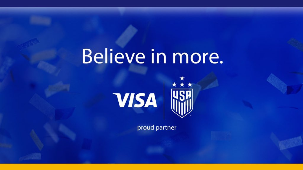 Many obstacles. One epic journey. The @USWNT became stronger each practice, each moment, each game. Now they're four-time champions. ⭐️ ⭐️ ⭐️ ⭐️   Visa. Proud partner of the U.S. Women's National Team.