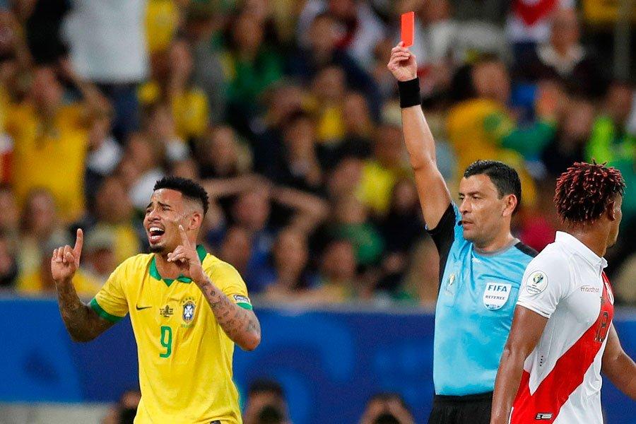 Финал Копа Америка. Бразилия - Перу 3:1. Слезы и радость Жезуса - изображение 5