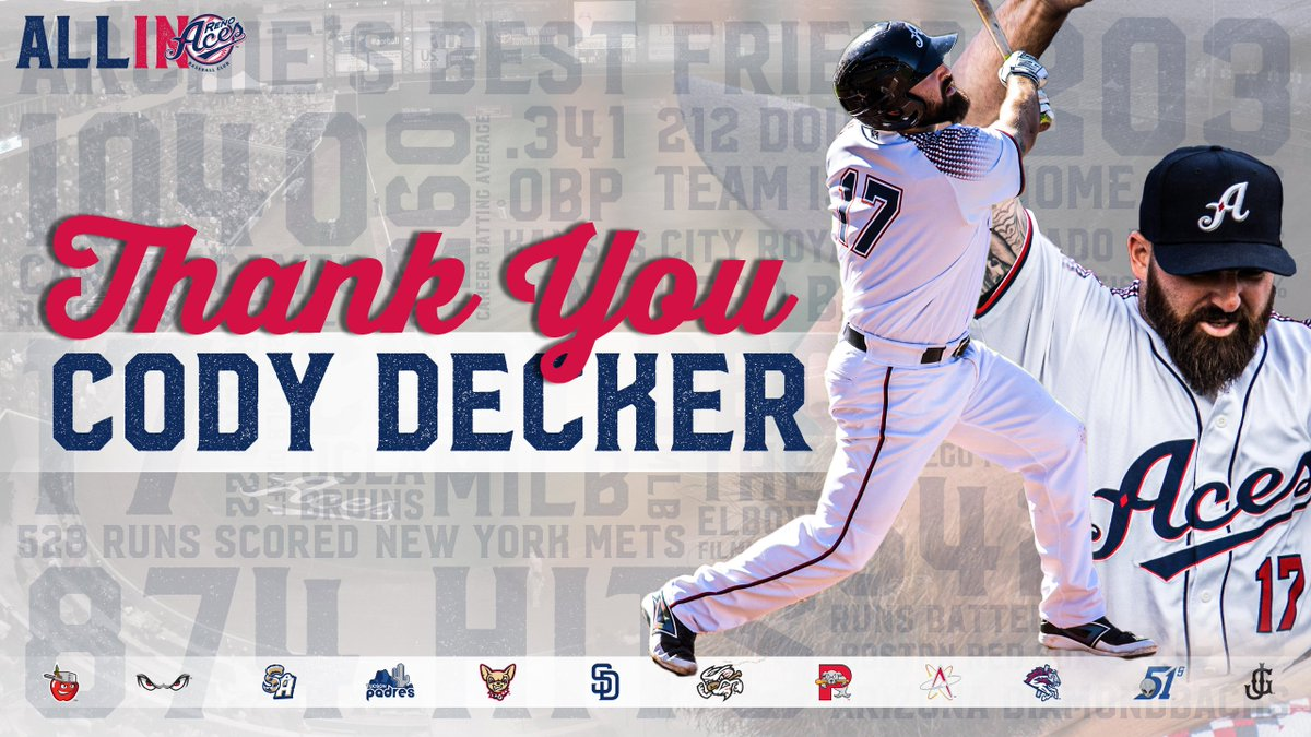 Active Minors home run leader Decker retires