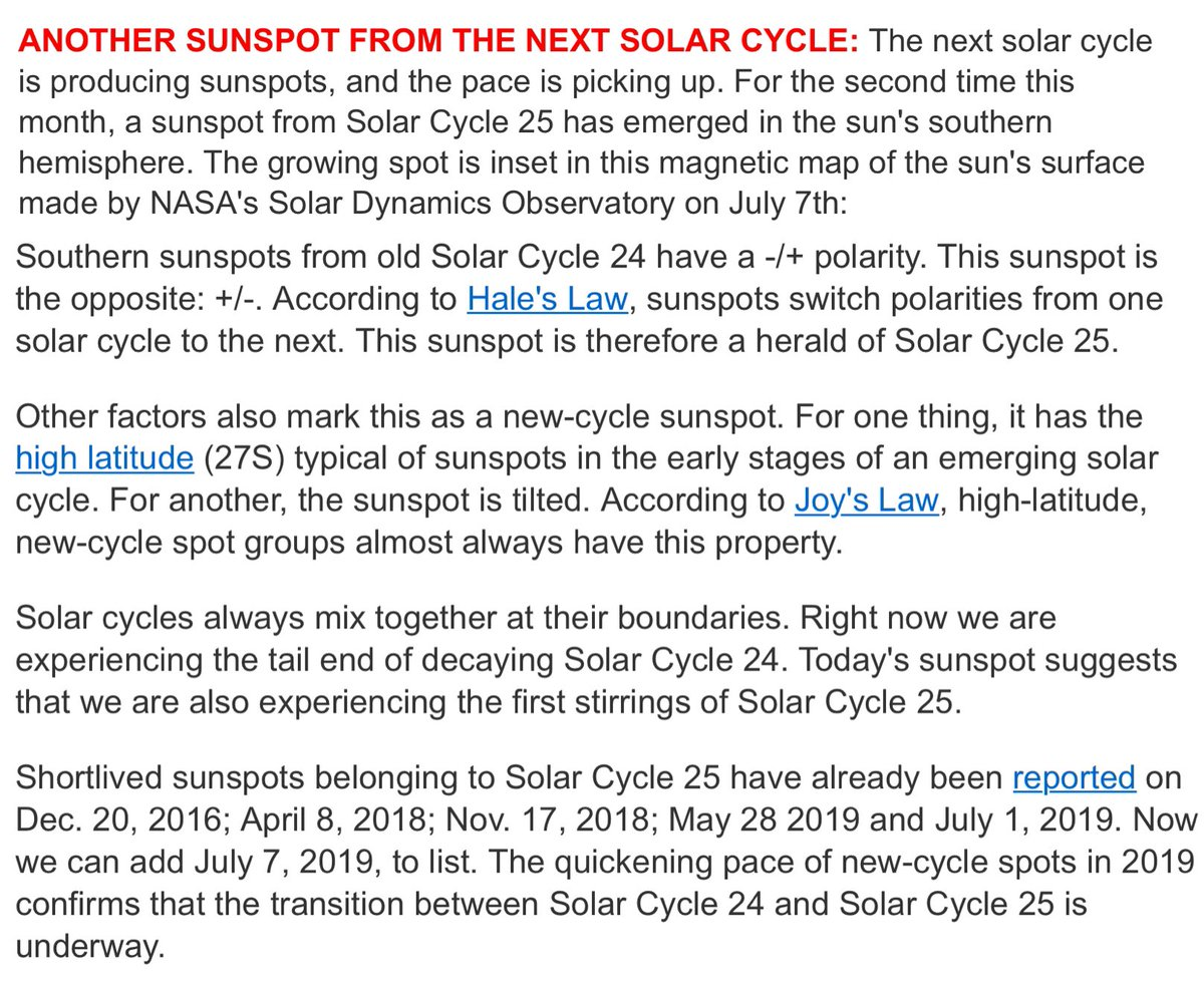 Solar Cycle 25 (@SolarCycle25) | Twitter