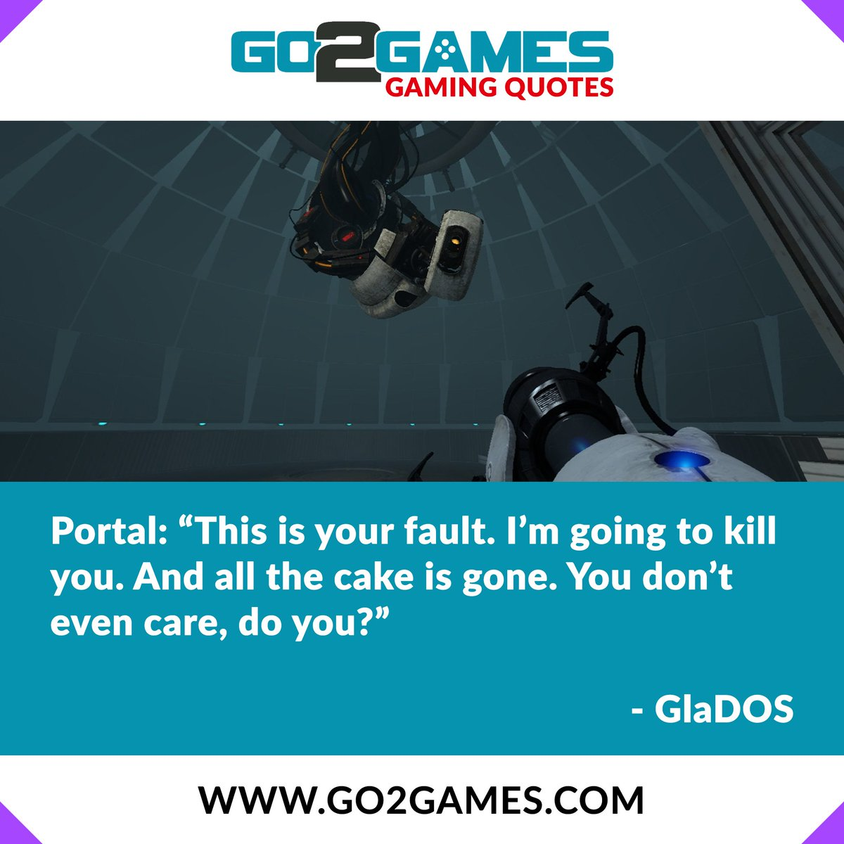 Go2games On Twitter Who Played The Portal Series Give Us