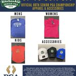 Image for the Tweet beginning: Merchandise from the #SrPGA at