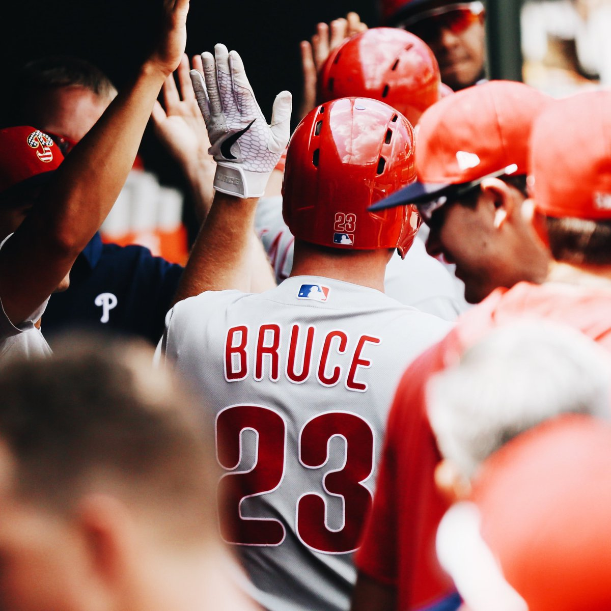 @Phillies's photo on Jay Bruce