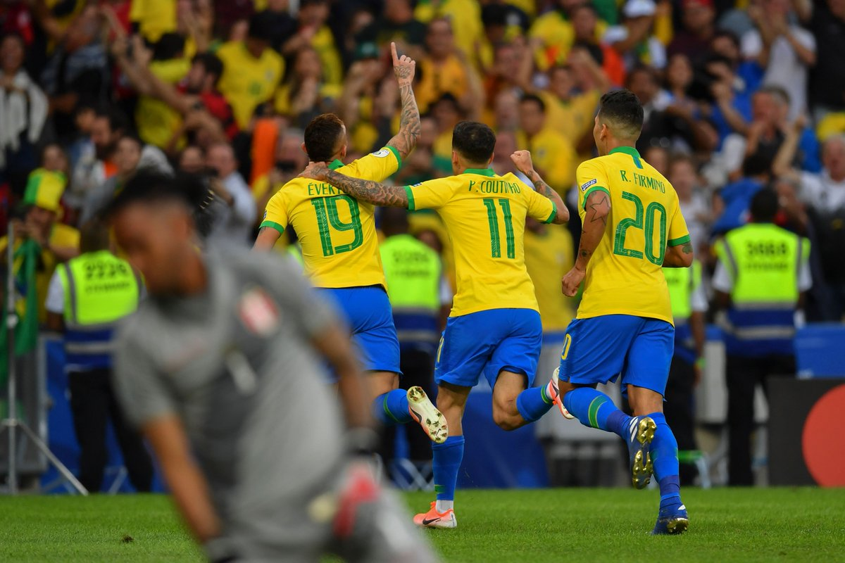 Финал Копа Америка. Бразилия - Перу 3:1. Слезы и радость Жезуса - изображение 1