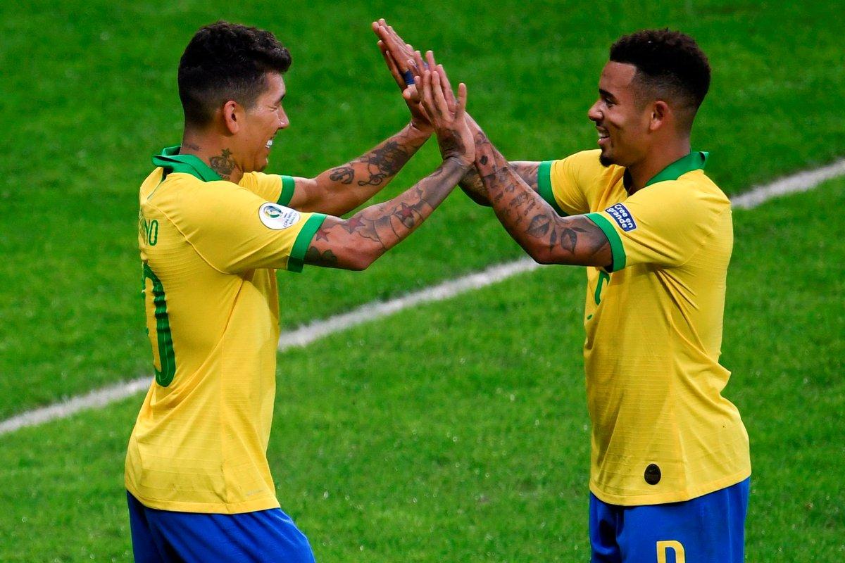 Финал Копа Америка. Бразилия - Перу 3:1. Слезы и радость Жезуса - изображение 4