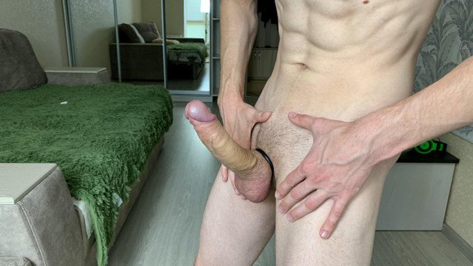 Hot vid sold! Jerking off MY Huge DICK With Cock Ring https://t.co/vOY6bEyvYz #MVSales #MVBoys #ManyVids