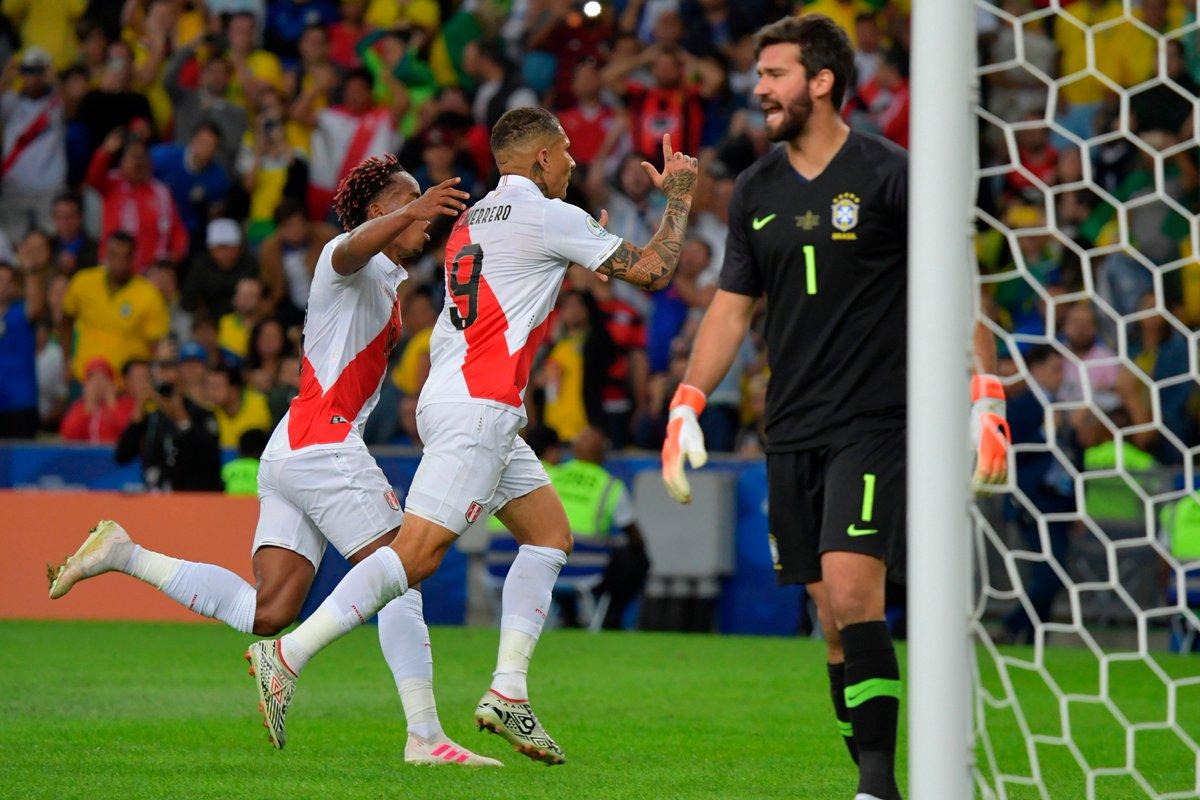 Финал Копа Америка. Бразилия - Перу 3:1. Слезы и радость Жезуса - изображение 3