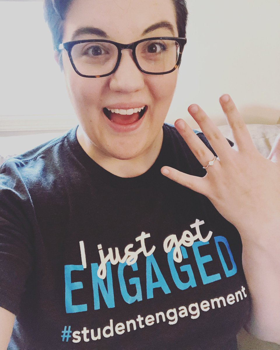 So glad my @nearpod shirt from #ISTE19 is now twice as accurate! #engaged