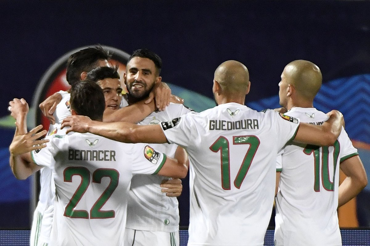 -  #Algeria first team to win the first four matches during the same edition of the #AfricancupOfNations  since Ivory Coast in 2012  #الجزاير_غينيا  #فخر_العرب_الحقيقي #حفيظ_دراجي #رياض_محرز #المنتخب_الجزايري<br>http://pic.twitter.com/a1hfRHrRcX