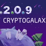 Image for the Tweet beginning: #CryptoGalaxy V 2.0.9 is now