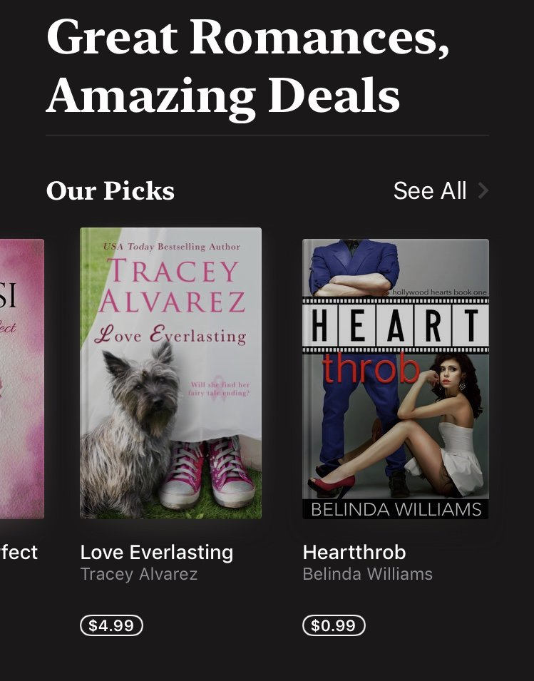 I'm starting the week with another amazing #bookdeal! The first book in my #HollywoodHearts series is just 99c @AppleBooks #contemporaryromancepic.twitter.com/AFy7GMULbe