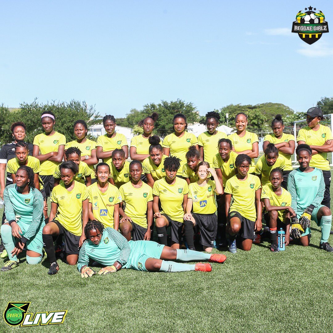 Jamaica will host Group 1 of five groups in a women's developmental tournament to be held under the auspices of the #CaribbeanFootballUnion. Watch highlights from the U14 Girlz training session  #ReggaeGirlz #strikehard #rooted2rise #DareToShine  #JFFLive #alacranfoundation