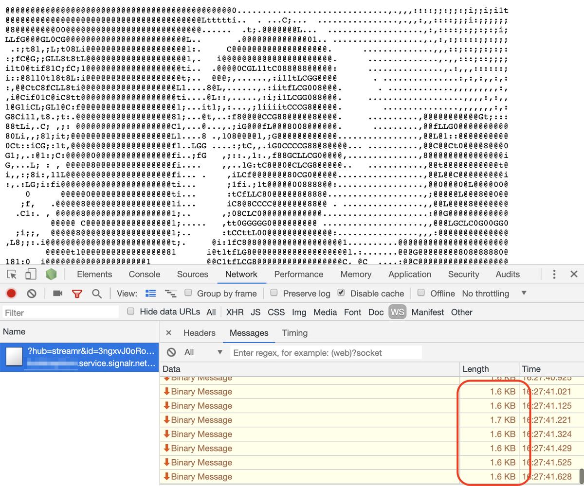 Axios Websocket Example