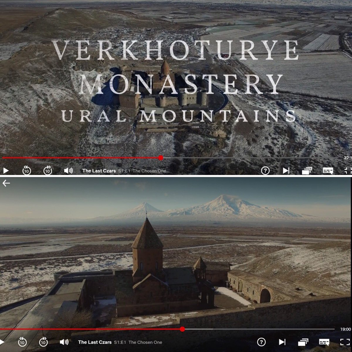 Netflix TV series the Last Czars used 7th-c Armenian Khor