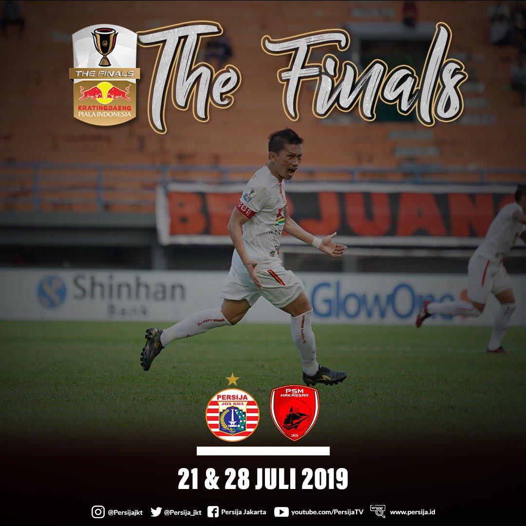 psm vs persebaya: jadwal final piala indonesia persija jakarta vs psm