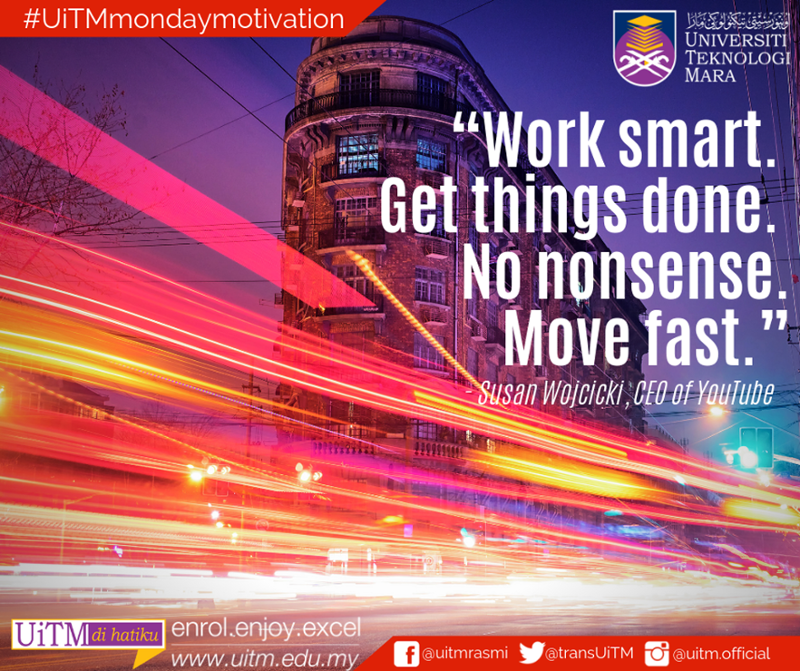 Work smart  Get things done  No nonsense  Move fast