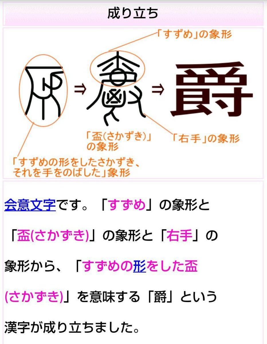 会意文字 hashtag on Twitter