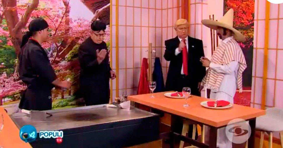 #VozPopuliTeVe Como dos grandes amiguis quedaron Trump y Kim Jong Un http://bit.ly/2L66OMH