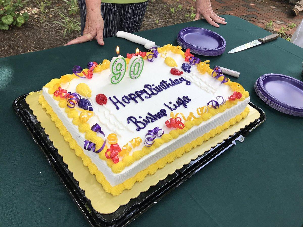 Sensational St Johns Roanoke On Twitter Happy 90Th Birthday Bishop Heath Personalised Birthday Cards Beptaeletsinfo
