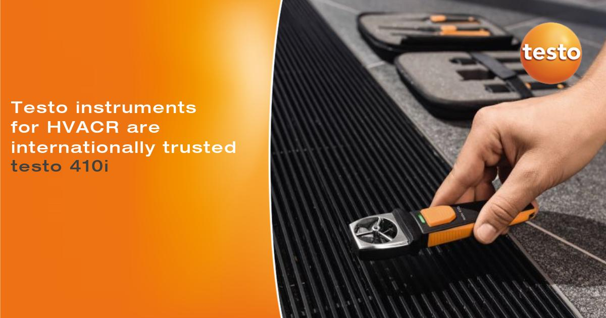 #Testo instruments for Ventilation and Air Conditioning are perfect to measure air flow, pressure, temperature and humidity to optimise building climate. Learn https://t.co/nLfnDGsIVn https://t.co/sgpkDNWmhr