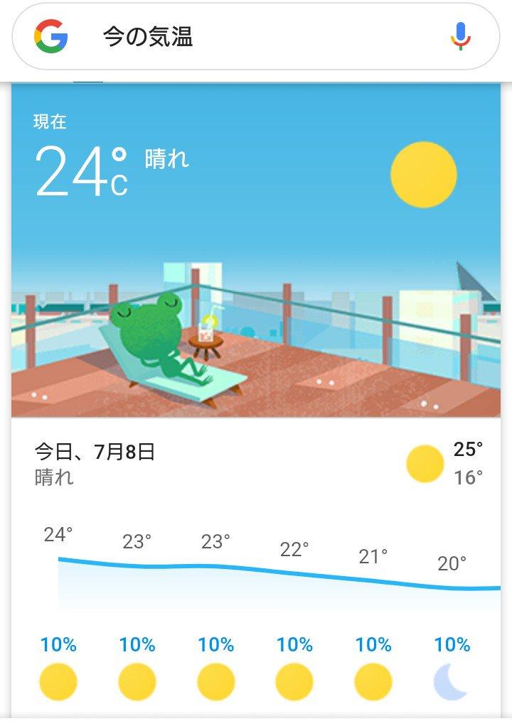 気温 今 の